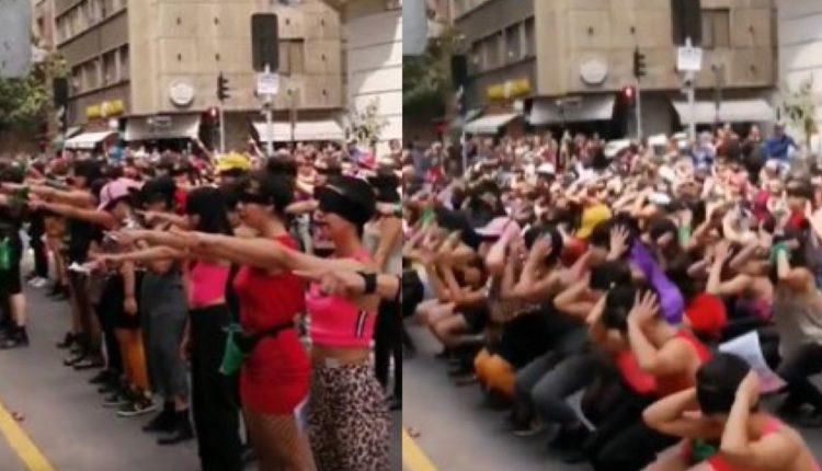 mujeres chile protesta