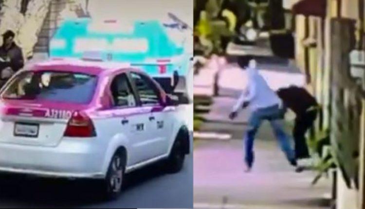 taxista complice asalto