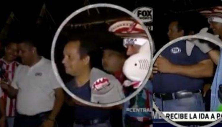 asalto periodista transmision