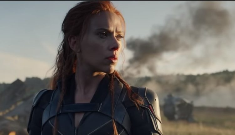 black widow trailer, marvel