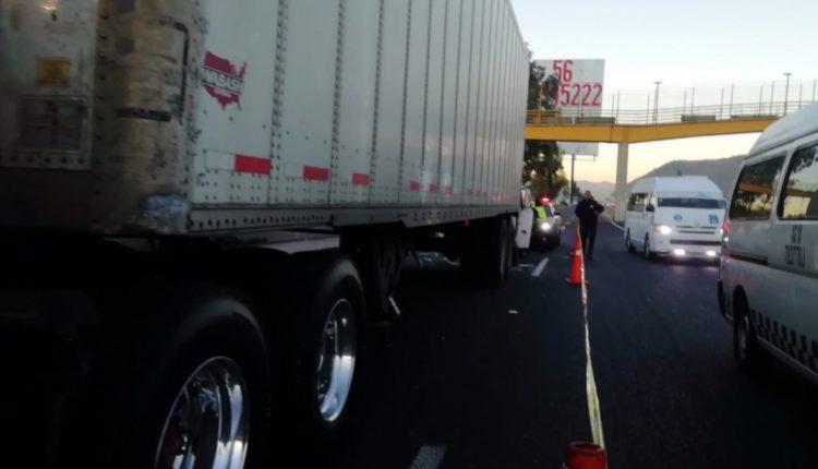 camion volcado mexico puebla