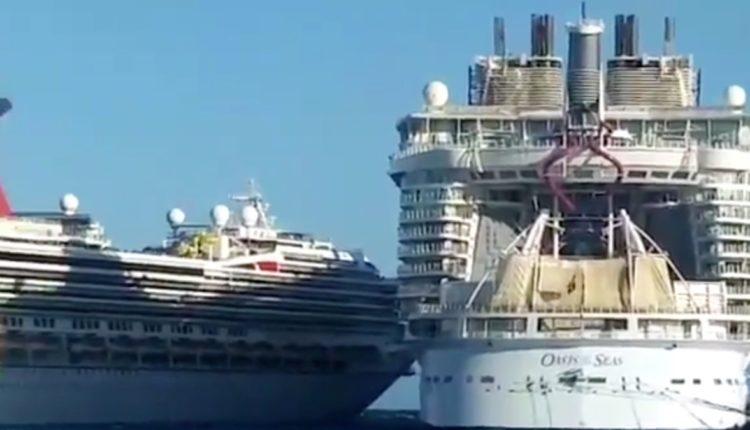 cruceros choque Cozumel
