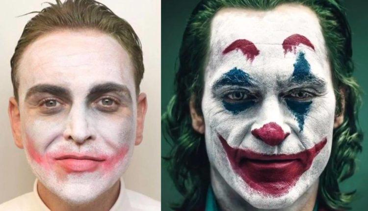 disfraz joker ex novia