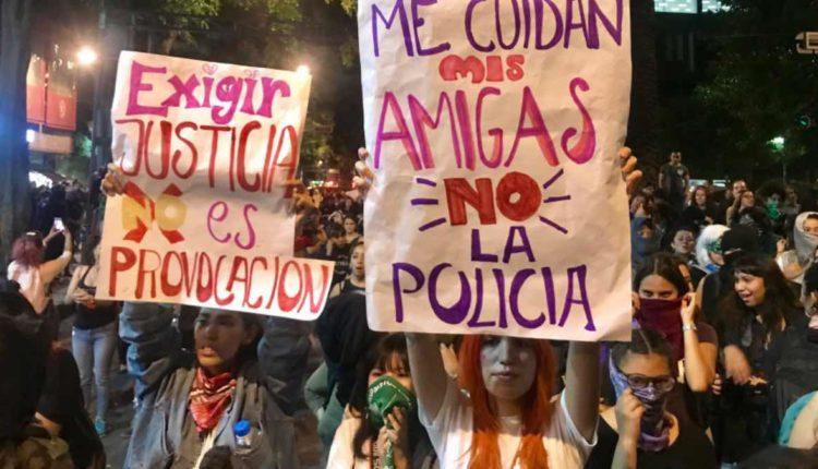 marcha feminista, Ley Olimpia