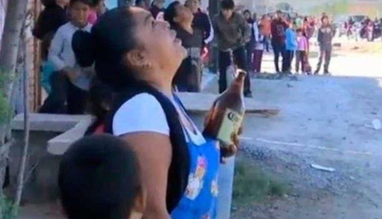 mujer caguama suicida