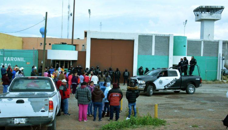 riña penal Zacatecas