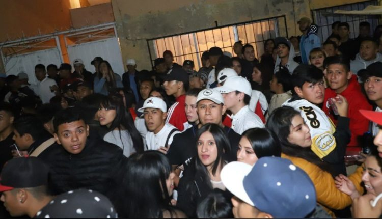 fiesta clandestina ecatepec