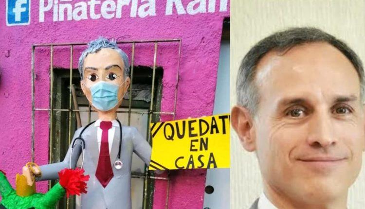 hugo lopez-gatell piñata