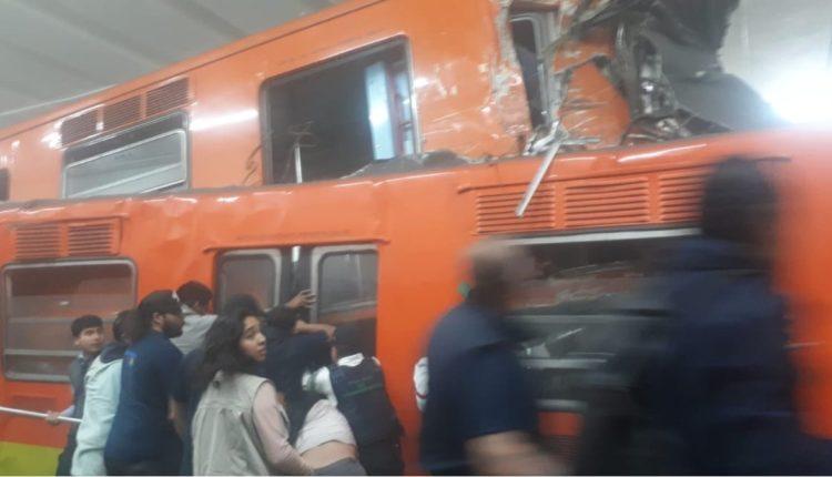 metro tacubaya accidente