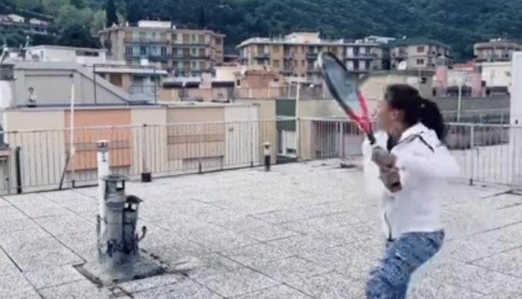 tenis en la azotea italia